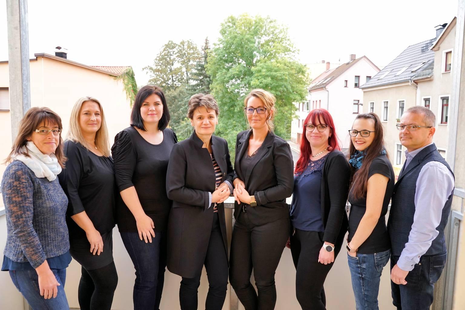 Das Team von Donath-Franke